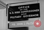 Image of John J Mccloy Germany, 1950, second 5 stock footage video 65675049654