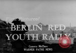 Image of Communist rally Berlin East Germany, 1950, second 4 stock footage video 65675049655