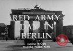Image of Red Army Day Berlin East Germany, 1950, second 3 stock footage video 65675049656