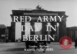 Image of Red Army Day Berlin East Germany, 1950, second 4 stock footage video 65675049656