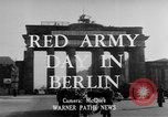 Image of Red Army Day Berlin East Germany, 1950, second 6 stock footage video 65675049656