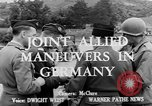 Image of Allied maneuvers Germany, 1950, second 2 stock footage video 65675049657