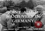 Image of Allied maneuvers Germany, 1950, second 3 stock footage video 65675049657