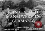 Image of Allied maneuvers Germany, 1950, second 4 stock footage video 65675049657