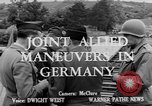 Image of Allied maneuvers Germany, 1950, second 5 stock footage video 65675049657