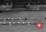 Image of Rowing classic on River Thames London England United Kingdom, 1938, second 10 stock footage video 65675049676
