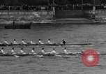 Image of Rowing classic on River Thames London England United Kingdom, 1938, second 11 stock footage video 65675049676