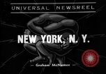 Image of wrestling New York United states USA, 1938, second 1 stock footage video 65675049677