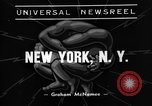 Image of wrestling New York United states USA, 1938, second 2 stock footage video 65675049677