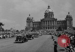 Image of Franklin D Roosevelt Des Moines Iowa USA, 1936, second 9 stock footage video 65675049681