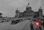 Image of Franklin D Roosevelt Des Moines Iowa USA, 1936, second 10 stock footage video 65675049681