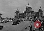 Image of Franklin D Roosevelt Des Moines Iowa USA, 1936, second 11 stock footage video 65675049681