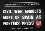 Image of Spanish Republic Armies San Sebastian Spain, 1936, second 2 stock footage video 65675049682