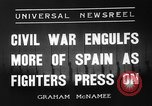 Image of Spanish Republic Armies San Sebastian Spain, 1936, second 5 stock footage video 65675049682