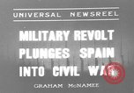 Image of Nationalist Armies Zaragoza Spain, 1936, second 1 stock footage video 65675049683