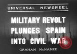 Image of Nationalist Armies Zaragoza Spain, 1936, second 2 stock footage video 65675049683