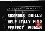 Image of Italian girls Orveito Italy, 1936, second 1 stock footage video 65675049689