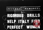 Image of Italian girls Orveito Italy, 1936, second 2 stock footage video 65675049689