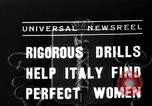 Image of Italian girls Orveito Italy, 1936, second 5 stock footage video 65675049689
