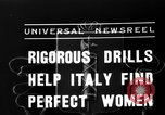 Image of Italian girls Orveito Italy, 1936, second 6 stock footage video 65675049689