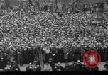 Image of Franklin D Roosevelt first inauguration speech Washington DC USA, 1933, second 1 stock footage video 65675049691