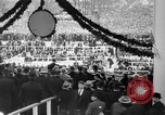 Image of Franklin D Roosevelt first inauguration speech Washington DC USA, 1933, second 12 stock footage video 65675049691