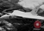 Image of British AVRO Vulcan jet bomber United Kingdom, 1953, second 8 stock footage video 65675049710