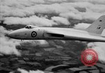 Image of British AVRO Vulcan jet bomber United Kingdom, 1953, second 9 stock footage video 65675049710