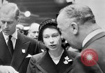 Image of Queen Elizabeth Birmingham England, 1956, second 10 stock footage video 65675049716