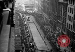 Image of ticker tape parade New York United States USA, 1936, second 10 stock footage video 65675049742