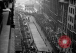 Image of ticker tape parade New York United States USA, 1936, second 12 stock footage video 65675049742