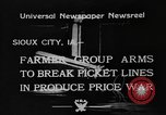 Image of farmers Sioux City Iowa USA, 1933, second 1 stock footage video 65675049744
