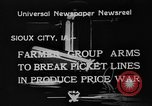 Image of farmers Sioux City Iowa USA, 1933, second 3 stock footage video 65675049744