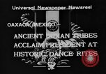Image of Indian tribes Oaxaca Mexico, 1933, second 1 stock footage video 65675049745