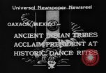 Image of Indian tribes Oaxaca Mexico, 1933, second 4 stock footage video 65675049745