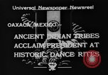 Image of Indian tribes Oaxaca Mexico, 1933, second 8 stock footage video 65675049745