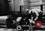 Image of Homemade car of newspaper boy Edward Floyd Seattle Washington USA, 1933, second 7 stock footage video 65675049746