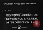 Image of Celebrations after Prohibition is repealed United States USA, 1933, second 1 stock footage video 65675049755