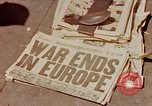 Image of newspaper Washington DC USA, 1945, second 1 stock footage video 65675049761