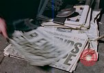 Image of newspaper Washington DC USA, 1945, second 3 stock footage video 65675049761