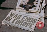 Image of newspaper Washington DC USA, 1945, second 4 stock footage video 65675049761