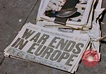 Image of newspaper Washington DC USA, 1945, second 5 stock footage video 65675049761