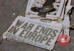 Image of newspaper Washington DC USA, 1945, second 6 stock footage video 65675049761