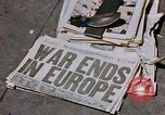 Image of newspaper Washington DC USA, 1945, second 9 stock footage video 65675049761