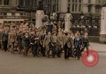 Image of People celebrate Victory in Europe in London London England United Kingdom, 1945, second 10 stock footage video 65675049765