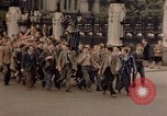 Image of People celebrate Victory in Europe in London London England United Kingdom, 1945, second 12 stock footage video 65675049765