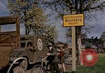Image of United States military occupying Nuremberg Nuremberg Germany, 1945, second 5 stock footage video 65675049768