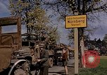 Image of United States military occupying Nuremberg Nuremberg Germany, 1945, second 9 stock footage video 65675049768