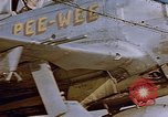 Image of  P-47 aircraft of 386th Fighter Squadron Fritzlar Germany, 1945, second 1 stock footage video 65675049770