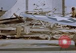 Image of  P-47 aircraft of 386th Fighter Squadron Fritzlar Germany, 1945, second 8 stock footage video 65675049770